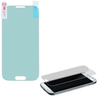 INSTEN Reinforced Hard Plastic Tempered Glass Screen Protector for Samsung Galaxy S4
