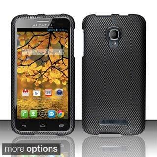 INSTEN Rubberized Plastic Design Phone Case Cover for Alcatel One Touch Fierce 7024T