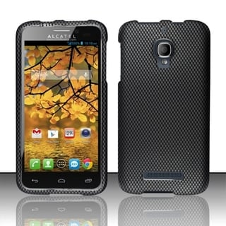 INSTEN Rubberized Plastic Design Phone Case Cover for Alcatel One Touch Fierce 7024T