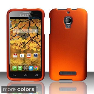INSTEN Rubberized Hard Plastic Snap-on Phone Case CoverAlcatel One Touch Fierce 7024T