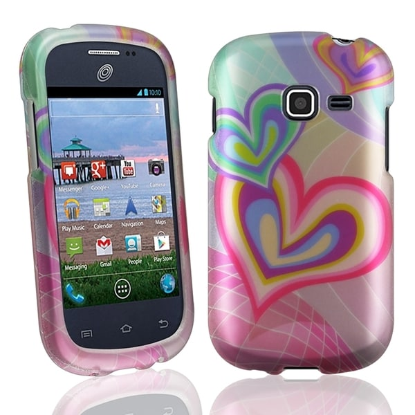INSTEN Rubberized Plastic Phone Case Cover for Samsung Galaxy Centura/ Discover/ S740C