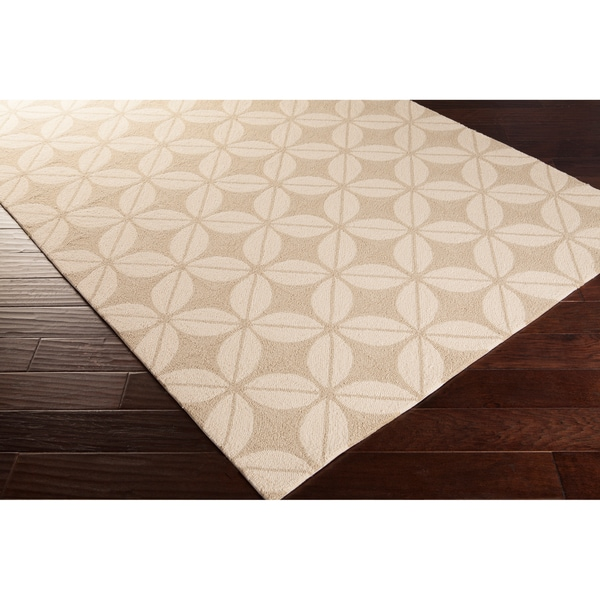 8x10 Indoor Outdoor Area Rugs: Shop Hand-tufted Bryce Contemporary Geometric Indoor