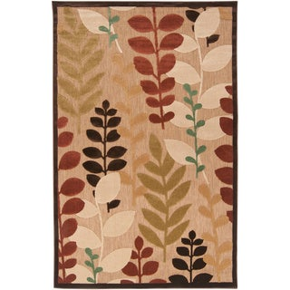 Meticulously Woven Ashlan Transitional Floral Indoor/ Outdoor Area Rug (8'8 x 12')
