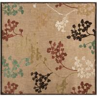 Patsy Transitional Floral Indoor/ Outdoor Area Rug - 7'6
