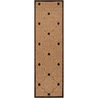 Meticulously Woven Aubrey Transitional Geometric Indoor/ Outdoor Area Rug (2'6 x 7'10)