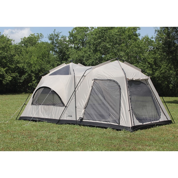 First Gear Twin Peaks Two-Room Cabin Dome Tent  sc 1 st  Overstock.com & First Gear Twin Peaks Two-Room Cabin Dome Tent - Free Shipping ...