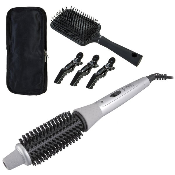 Power Styler Perfecter Fusion Styler Heated Round Brush ...