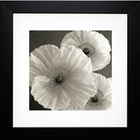 Sondra Wampler 'Poppy No. 7' Framed Art Print