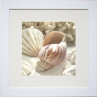 Donna Geissler 'Coral Shell II' Framed Art Print