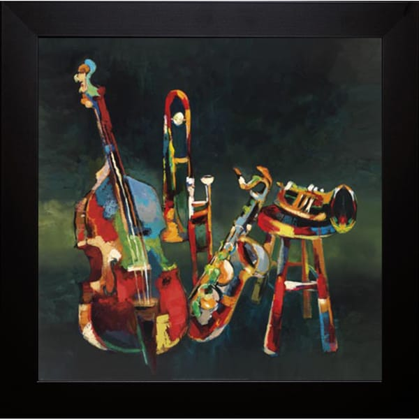 Elli and John Milan 'Ensemble' Framed Art Print