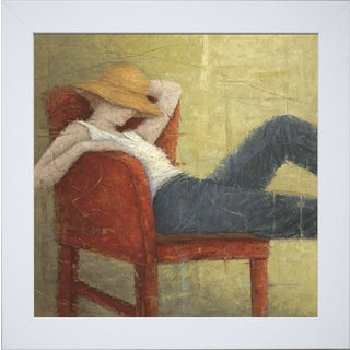 Erica Hopper 'Second Thoughts' Framed Art Print