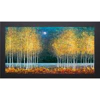 Melissa Graves-Brown 'Blue Moon' Framed Art Print - Yellow