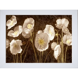 Ives McColl 'Baroque Poppies' Framed Art Print