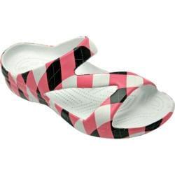 Women's Dawgs Loudmouth Z Sandal Pink/Black Tile