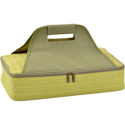 picnic at ascot olive insulated casserole carrier free shipping on orders over 45 overstock. Black Bedroom Furniture Sets. Home Design Ideas