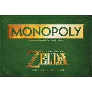Monopoly the Legend of Zelda Collector's Edition (Game)