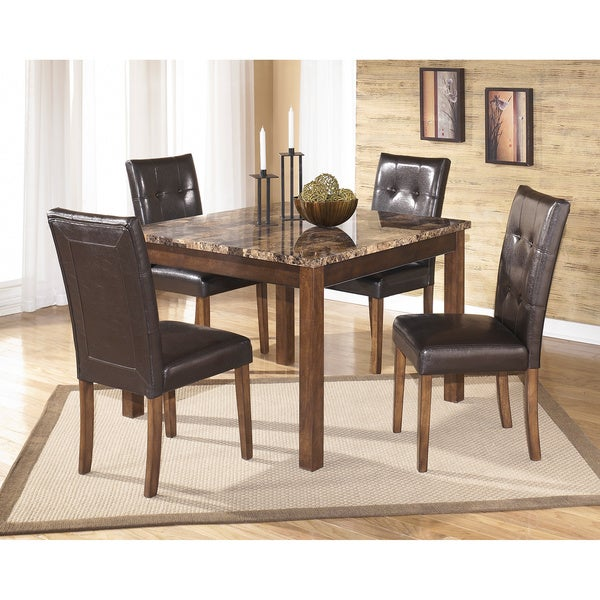 Signature Design By Ashley Theo Square Table Set Free