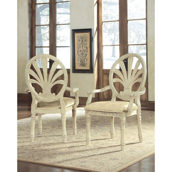 Signature Design by Ashley Ortanique Dining Upholstered Arm Chair (Set of 2). Opens flyout.