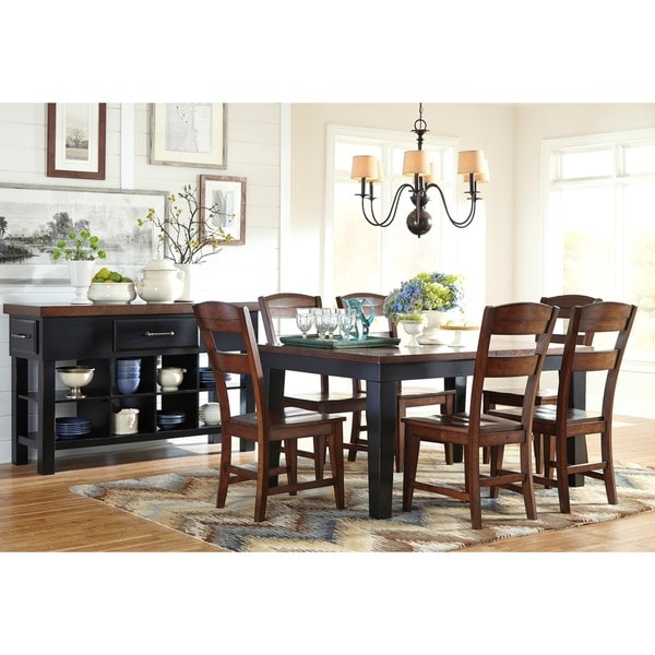 Signature Designs by Ashley Marileze Rectangular Dining  : Signature Designs by Ashley Marileze Rectangular Dining Room Extended Table e4bb29eb c966 4b24 9f8c 36a3dfd048f5600 from www.overstock.com size 600 x 600 jpeg 57kB