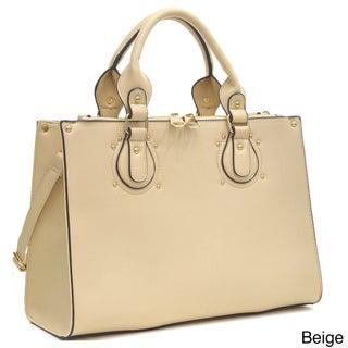 Dasein Locking Magnetic Snap Satchel Briefcase Handbag (5 options available)