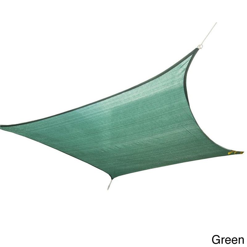 """Cool Area Sun Shade Sail Patio Shade (9'10"""" x 13') (Green..."""