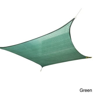 "Cool Area Sun Shade Sail Patio Shade (9'10"" x 13')"