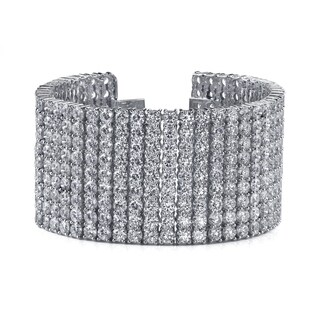 14k White Gold 72ct TDW Pave Diamond Tennis Bracelet|https://ak1.ostkcdn.com/images/products/9115754/14k-White-Gold-72ct-TDW-9-row-Pave-Diamond-Tennis-Bracelet-F-G-SI2-SI3-P16300850.jpg?_ostk_perf_=percv&impolicy=medium