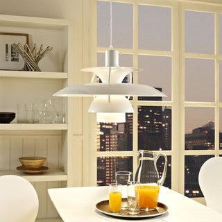 Guise Modern White 1-light Pendant Lamp