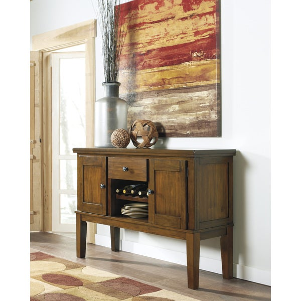 Signature Design by Ashley Ralene Brown Dining Room Server - Free ...