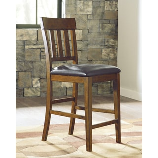 Signature Design by Ashley Ralene Medium Brown Bar Stool (Set of 2)
