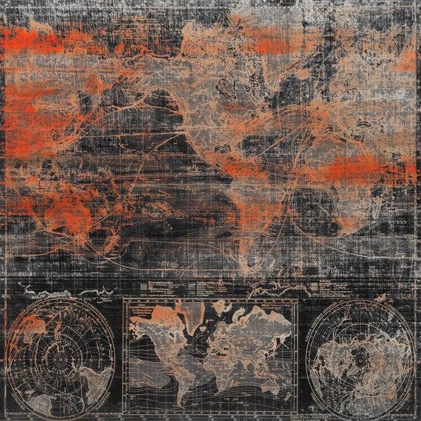 Marmont Hill Art Collective 'Global Heat' Canvas art - Multi-color