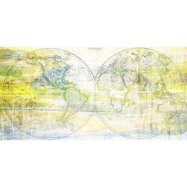 Marmont Hill Art Collective 'Hemispheres' Canvas Art - Multi-color