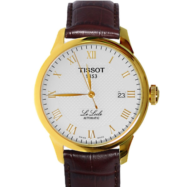 Tissot Men's T41541373 Le Locle Automatic Skeleton Back Watch. Opens flyout.