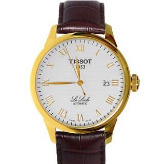 Tissot Men's T41541373 Le Locle Automatic Skeleton Back Watch