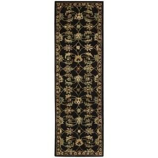 Nourison India House Black Rug (2'3 x 7'6)