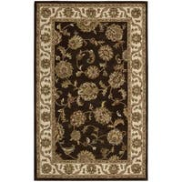 Nourison India House Chocolate Rug (3'6 x 5'6)