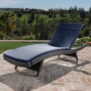 Oliver & James Baishi Outdoor Cushioned Lounge Chair
