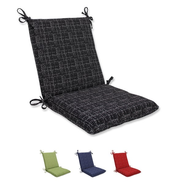 Pillow perfect squared corners chair cushion with bella for Home goods patio furniture cushions