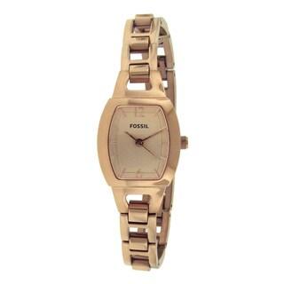 Fossil Women's BQ1069 Rose Goldtone Stainless Steel Watch