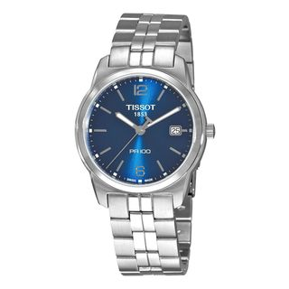 Tissot Men's T0494101104701 PR 100 Blue Dial Bracelet Watch