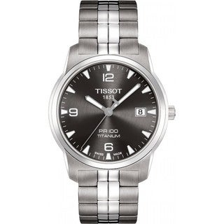 Tissot Men's T0494104406700 Anthracite Dial PR 100 Watch