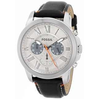 Fossil Men's FS4886 Grant Black Chronograph Watch