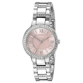 Fossil Women's ES3504 Virginia Silver Watch