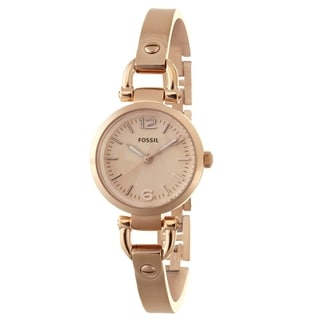 Fossil Women's ES3268 Georgia Rose Goldtone Watch