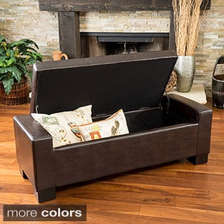 Christopher Knight Home Robert Storage Ottoman