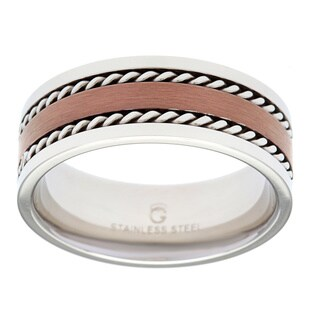 Stainless Steel Brown Ion-plated Band (5 options available)