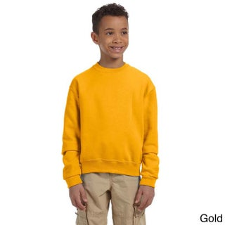 Youth 50/50 NuBlend Fleece Long-sleeve T-shirt