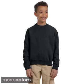 Youth 50/50 NuBlend Fleece Long-sleeve T-shirt