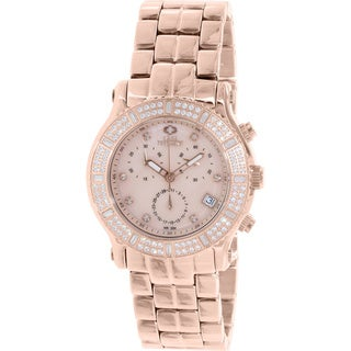 Swiss Precimax Women's SP13323 'Tribeca Elite' Rose Goldtone Watch