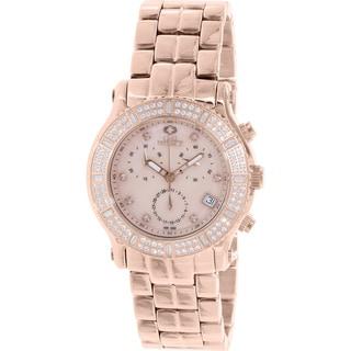 Swiss Precimax Women's SP13323 'Tribeca Elite' Rose Goldtone Watch